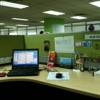 Photo taken at Packet Hub Level 3 by Ayu H. on 6/20/2013