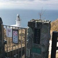 Photo taken at Chikiu-misaki Lighthouse by asami🎀 一. on 3/13/2017