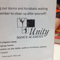 Photo taken at Unity Dance Academy by Michelle B. on 11/20/2013