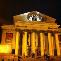 Снимок сделан в Дворец на Яузе пользователем Евгений М. 10/21/2012