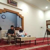 Photo taken at Masjid Al Muqtasidin FE UII by Adi W. on 3/3/2018