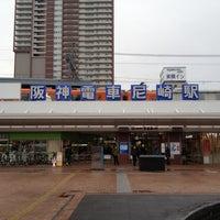 Photo taken at Hanshin Amagasaki Station (HS09) by similan. d. on 12/15/2012