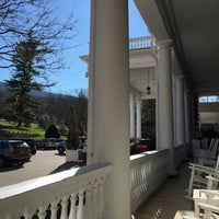 Photo taken at The Front Porch at The Homestead by Bryan C. on 1/2/2016