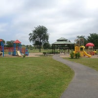 Photo taken at Reservoir Park Playground by Bob B. on 7/10/2013