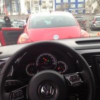 Photo taken at Volkswagen Doğuş Oto by gozde nur y. on 12/16/2012