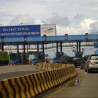 Photo taken at Pelabuhan Merak by 'Iway O. on 1/1/2013
