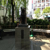 Photo taken at Hachiko Statue by Pum P. on 4/12/2013