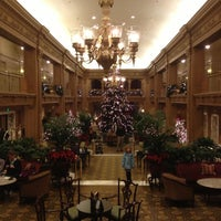 Photo taken at Fairmont Olympic Hotel by Whitney H. on 12/11/2012