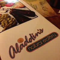 Photo taken at Aladdin's Natural Eatery by Locy C. on 12/22/2012