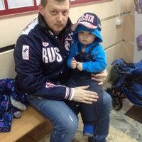 Photo taken at Сормовский ЗАГС by Olga K. on 3/25/2015