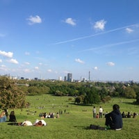 Photo taken at Primrose Hill by Lucia V. on 5/27/2013
