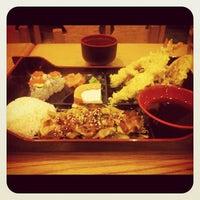 Photo taken at Sushi Garden by Jon-Jon G. on 10/26/2012