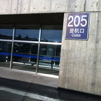 Photo taken at Gate 205 by Jerico S. on 8/12/2013