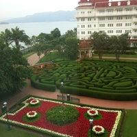 Photo taken at Hong Kong Disneyland Hotel by Jerico S. on 11/11/2012