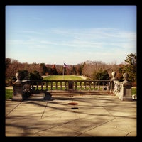 Photo taken at Ault Park by Tim S. on 11/22/2012