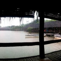 Photo taken at Saung Talaga by Kholili A. on 11/24/2012