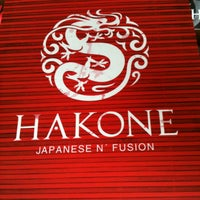 Photo taken at Hakone Japanese N' Fusion by Michele Y. on 6/1/2013