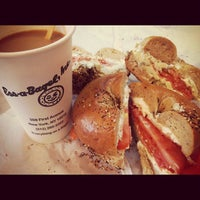 Photo taken at Ess-a-Bagel by Tandy C. on 11/19/2012
