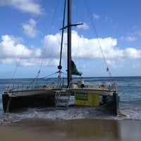 Photo taken at Maita'i Catamaran by LiquidMercurial on 7/11/2013