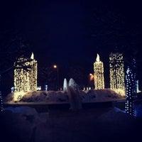 Photo taken at Rožu laukums by iLva K. on 12/11/2012