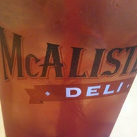 Photo taken at McAlister's Deli by Kevin C. on 10/12/2012