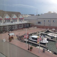 Photo taken at Harbor House Hotel & Marina at Pier 21 by Mellissa R. on 10/18/2013