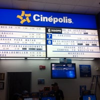 Photo taken at Cinépolis by Israel Barac H. on 9/22/2013
