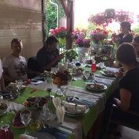 Photo taken at Pirosmani Georgian Restaurant by Ni N. on 7/5/2017