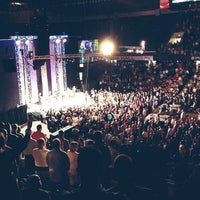 Photo taken at Freedom Hall by Aaron O. on 4/14/2013