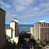 Photo taken at Embassy Suites by Hilton Waikiki Beach Walk by Kul W. on 5/12/2013