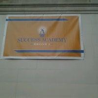 Photo taken at Success Academy Bronx 2 by Duskizm T. on 12/13/2012