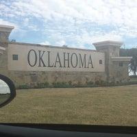 Photo taken at Oklahoma by Dorre Z. on 10/12/2014