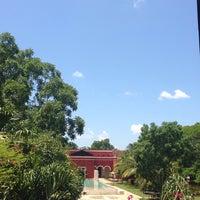 Photo taken at Hacienda Temozon by Carlos M. on 8/3/2014