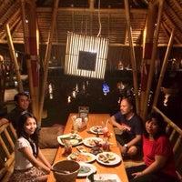 Photo taken at Gubug Makan Segara Bambu by Risa F. on 2/22/2016