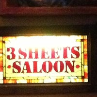 Photo taken at 3 Sheets Saloon by Mac on 4/13/2013