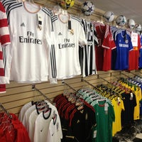 Photo taken at Soccer Store by Pepe D. on 6/9/2013
