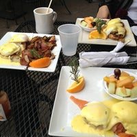 Photo taken at The Crema Cafe by dc n. on 1/23/2013