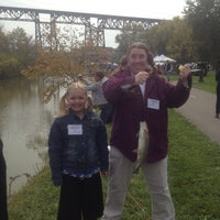 Photo taken at Tow Path Mile Marker 7 by Anita Y. on 10/13/2012