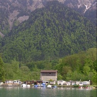 Photo taken at Harbour Interlaken Ost by Trieyanto K. on 5/13/2013
