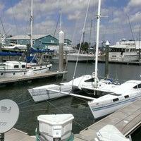 Photo taken at Seabrook Marina by Wayne S. on 3/16/2013