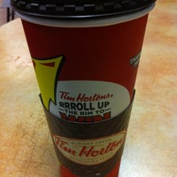Photo taken at Tim Hortons by Steven L. on 3/11/2013