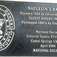 Photo taken at Naegelin's Bakery by Adam D. on 6/9/2013