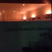 รูปภาพถ่ายที่ Antica Trattoria Nostalgica โดย Narae K. เมื่อ 2/4/2014