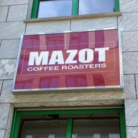 Photo taken at MAZOT Coffee Roasters by Maurice K. on 6/5/2013