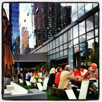 Photo taken at The Terrace at Yotel by Sophia Y. on 9/17/2012