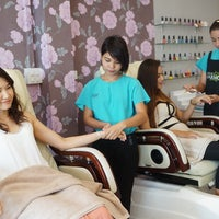 Photo taken at Jariya Massage & Nail Spa by Ja Ae C. on 8/9/2014