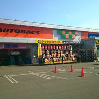 Photo taken at Autobacs by kanchaso f. on 9/6/2013