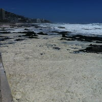 Photo taken at Sea Point Beach Promenade by AL G. on 12/28/2012