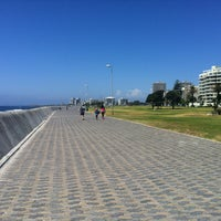 Photo taken at Sea Point Beach Promenade by AL G. on 12/21/2012