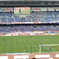 Photo taken at Nissan Stadium by yosemite 2. on 4/27/2013